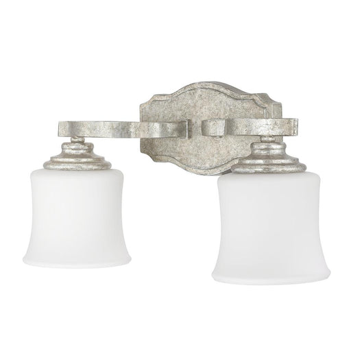 an image of Capital Lighting Blair 2 Light Vanity in Antique Silver