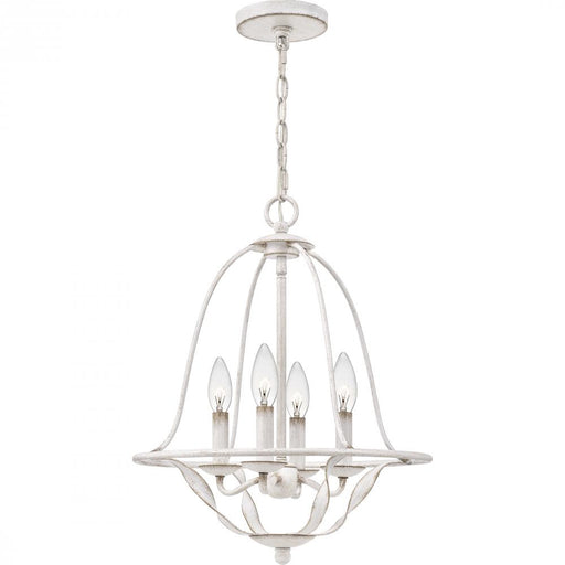 Quoizel BDB5016AWH 4 Light Bradbury Chandelier