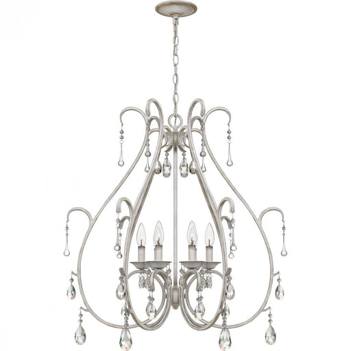 Quoizel BLC5006AWH 6 Light Blanca Chandelier