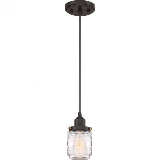 Quoizel BNT1504WT 1 Light Belmont Mini Pendant