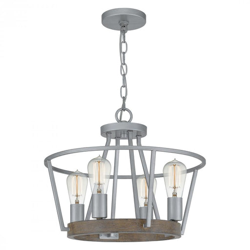 Quoizel BRT2817BSR 4 Light Brockton Pendant
