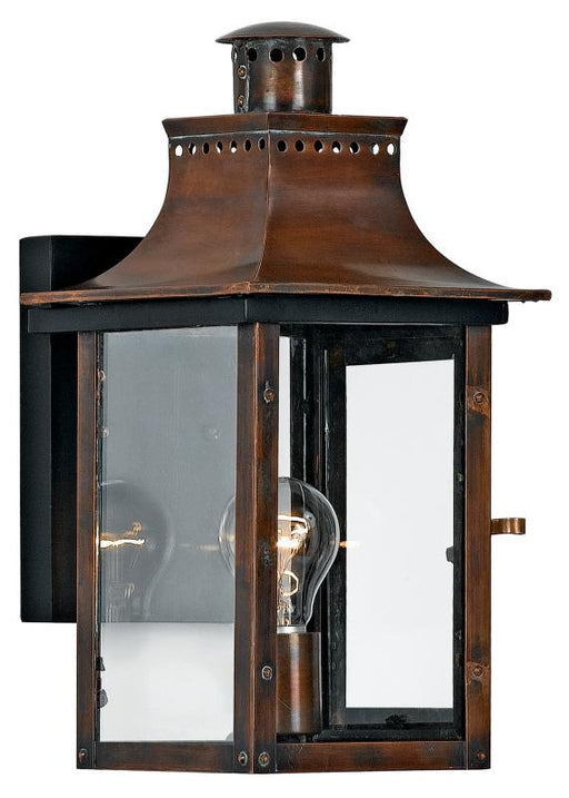 Quoizel CM8408AC 1 Light Chalmers Outdoor Lantern