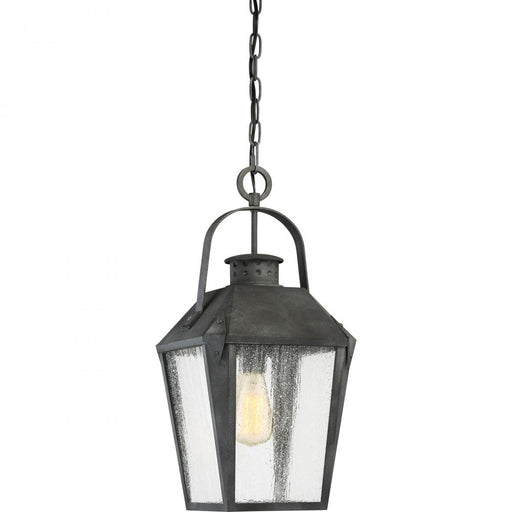 Quoizel CRG1910MB 1 Light Carriage Outdoor Lantern