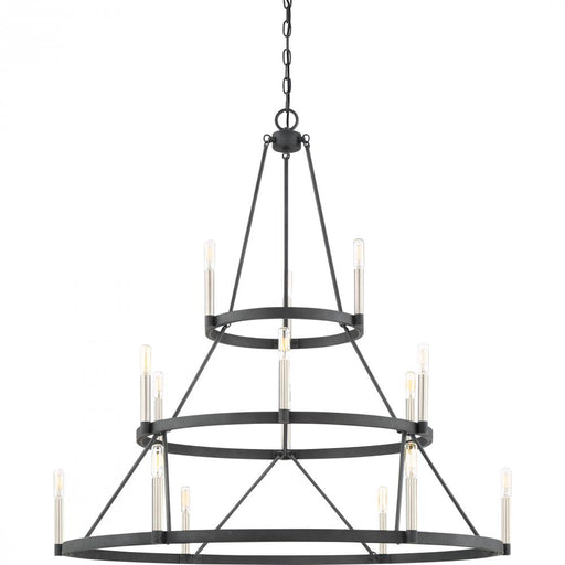 Quoizel DOR5015MB 15 Light Doran Chandelier