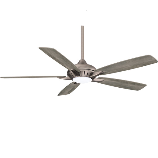 "Dyno XL - 60"" Smart Ceiling Fan, 5 Blades w/ LED Light Kit and Remote Control"