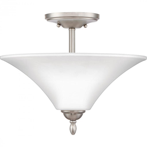 Quoizel KGF1715BN 2 Light Kingfield Semi-Flush Mount