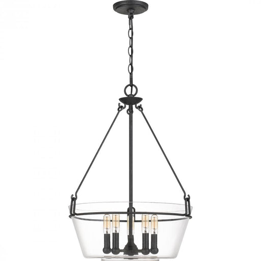 Quoizel WEL2818GK 5 Light Wells Pendant