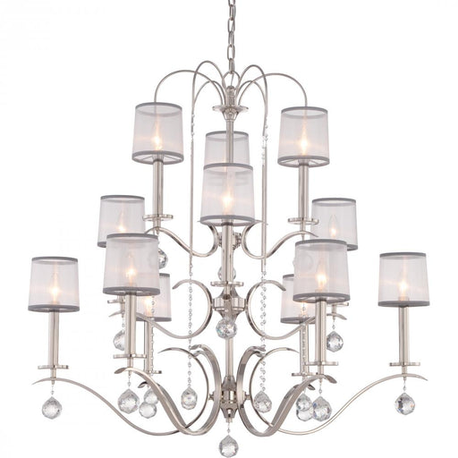 Quoizel WHI5012IS 12 Light Whitney Chandelier
