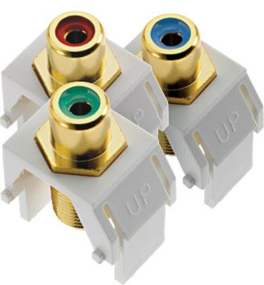 Adorne Component Video RCA to F Kit