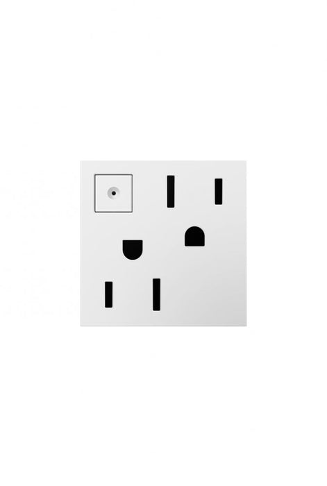 Adorne Energy-Saving On/Off Outlet, 15A
