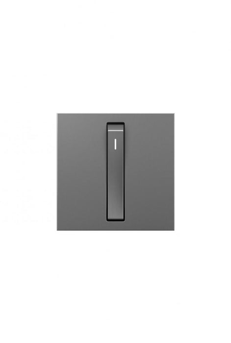 Adorne Whisper Switch, 15A, Magnesium