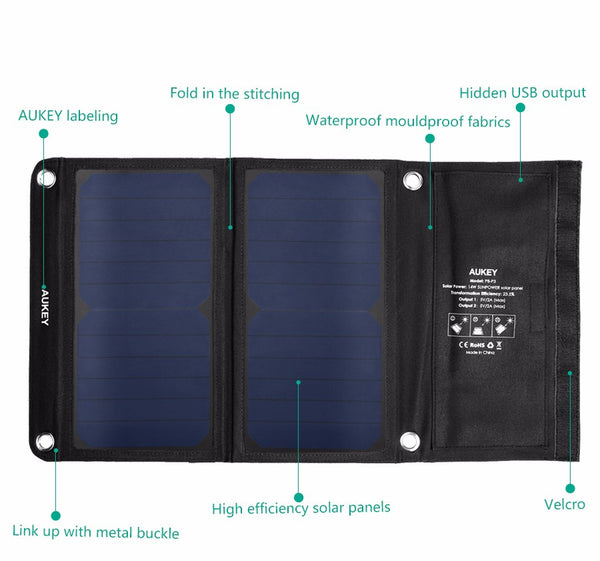 ✭ Charged Life ✭ Solar panel Charger