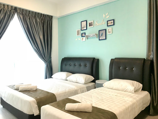 Deluxe 2 Bedrooms Apartment (5 pax)