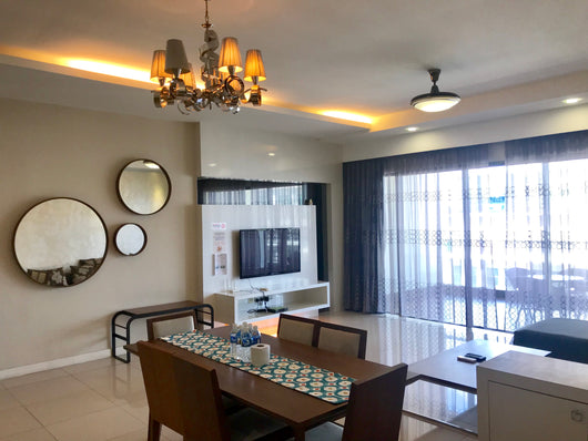 Executive 3 Bedrooms Apartment (6 pax)