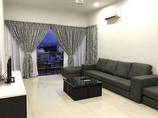 Premier 3 Bedrooms Apartment (6 pax)