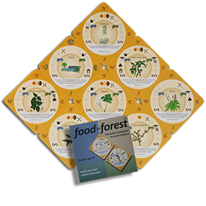 Food Forest Card Game (Northern Hemisphere)