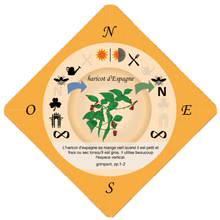Food Forest Printable Cards, French Language Version (PDF)