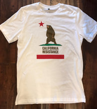 California Resistance Standing Bear Mens T-Shirt White