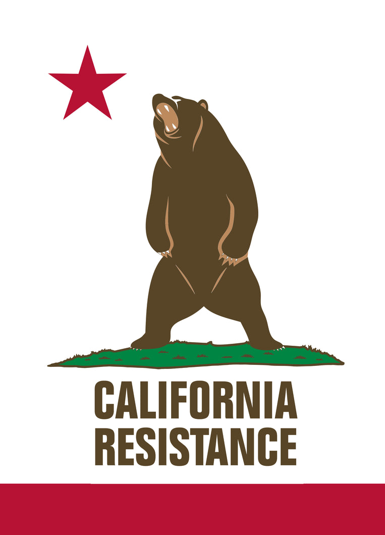California Resistance Sticker