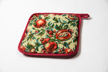 Pomegranate Textile Potholder