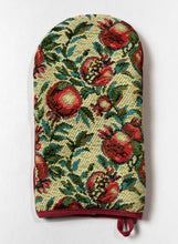 "Oven Glove ""Pomegranate Textile"""