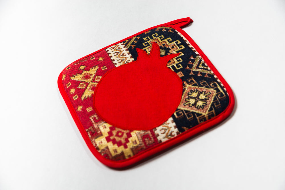 Pomegranate Potholder
