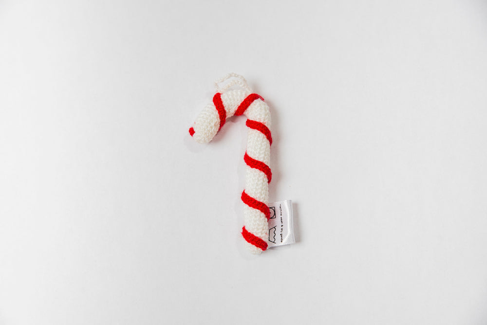 Crochet Candy Cane Ornament Hdif Usa