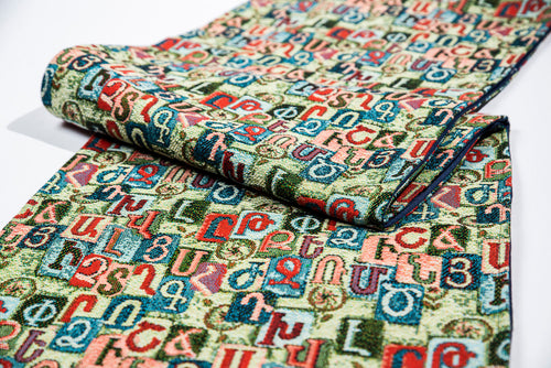 Alphabet Table Runner