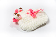 Crochet Cow Baby Booties