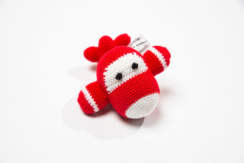 Crocheted Baby Rattle