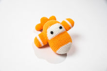 "Crocheted Baby Rattle ""Airplane"""
