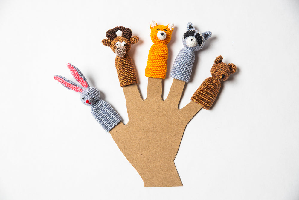 Forest Finger Puppet Set