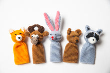 "Crocheted Finger Puppet Set ""Forest"""
