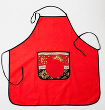 "Apron ""Pomegranate"""