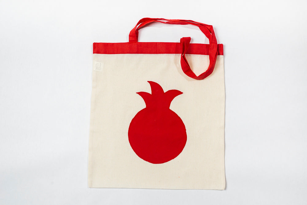 Reusable Pomegranate Tote Bag
