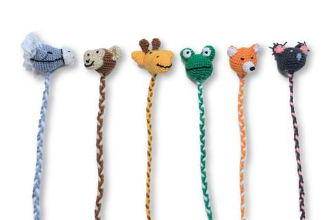 Crocheted Animal Bookmarks