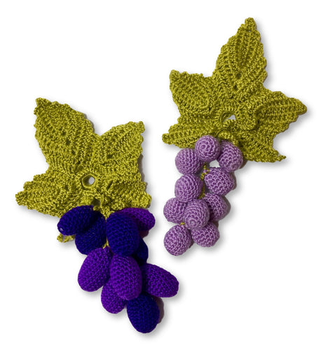 Grape & Leaf Bottle Tassel