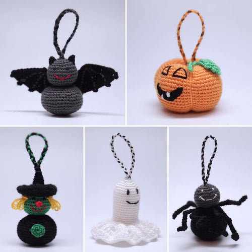 Halloween Ornament Set