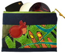 Leather & Fabric Cosmetic Bags