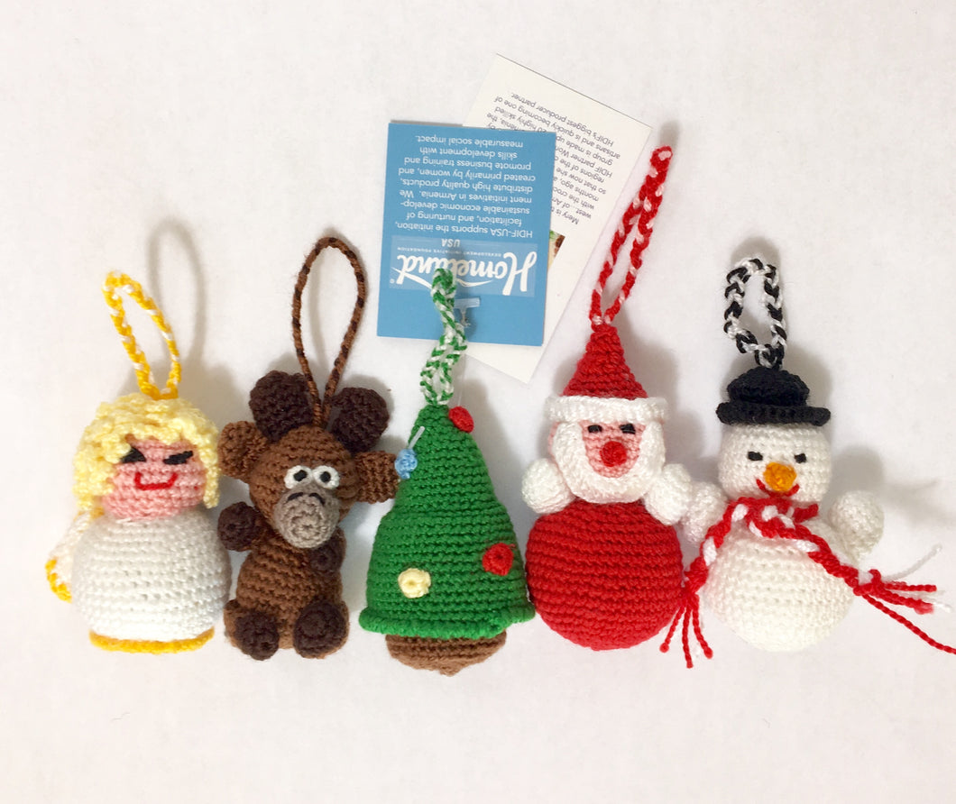 Christmas Mini Ornament Set
