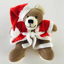 Small Berd Santa Teddy Bear