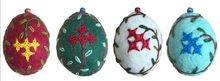"Wool Felt Oval-Shaped Ornament Set ""Marash"""