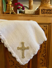 Baptism Blanket with Armenian Cross