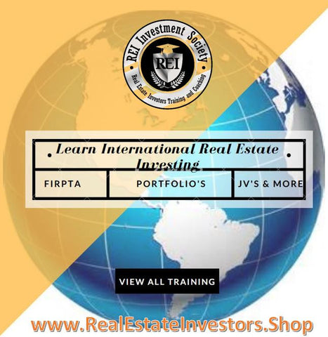 Learn International Real Estate Investing