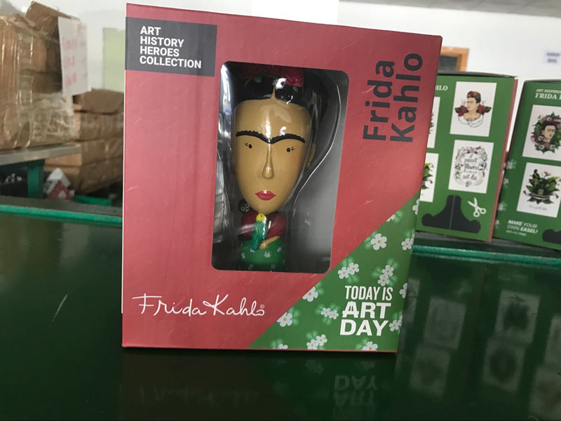 Frida Kahlo action figures are now in transit