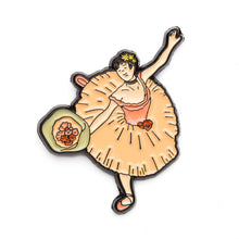 Dancer with a Bouquet of Flowers - Pin