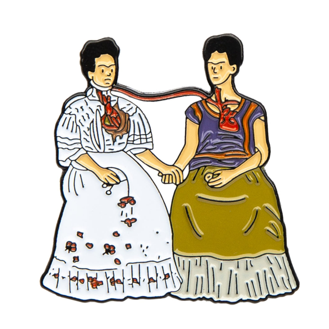 Two Fridas - Pin
