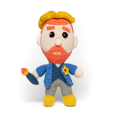 Vincent van Gogh Crochet Doll