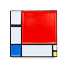 Composition II in Red, Blue, and Yellow - Magnet