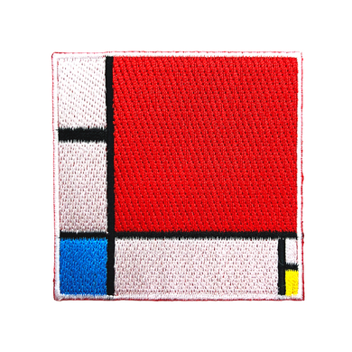Composition II in Red, Blue, and Yellow - Patch